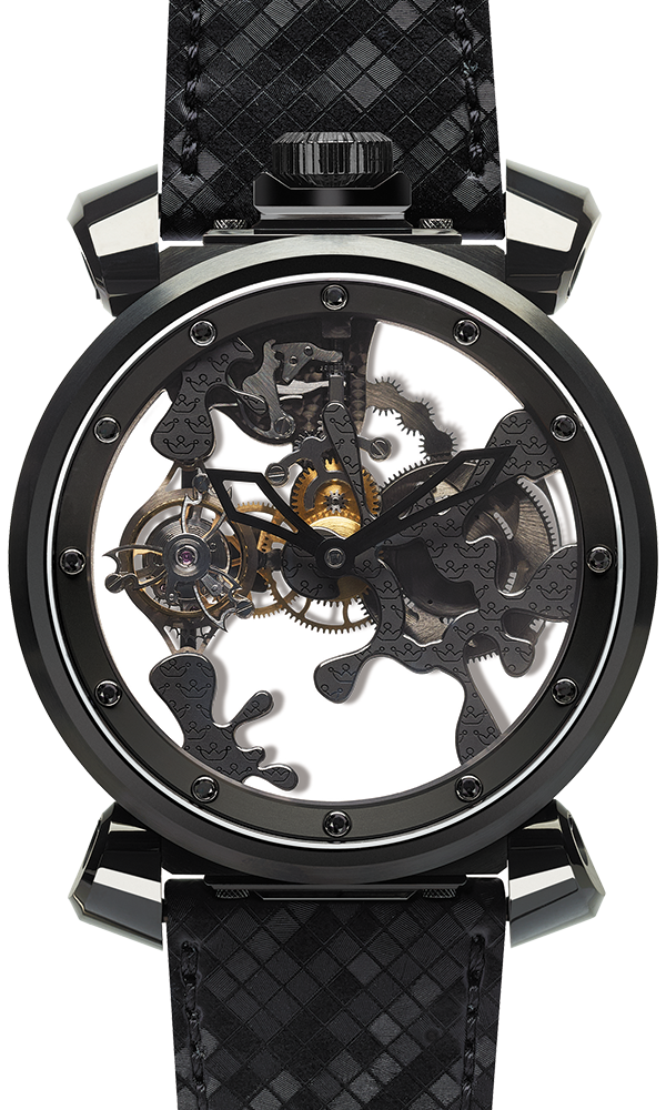 Quirky Tourbillon Black
